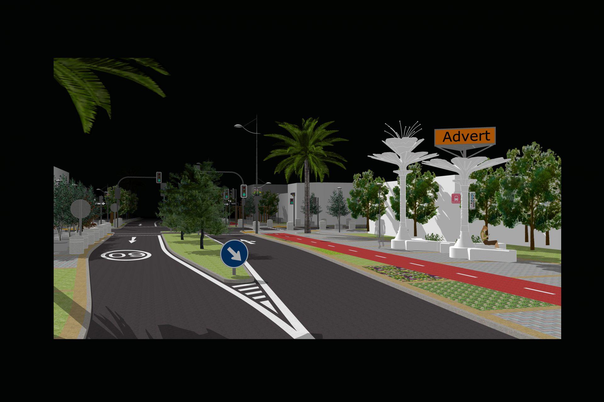 Ứng dụng cây U-TREE trên đường phố